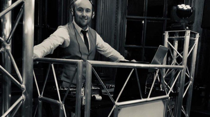Shaun behind decks
